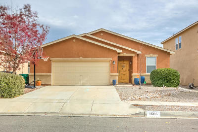 Rio Rancho Single Family Home For Sale: 1606 Agua Dulce Drive SE