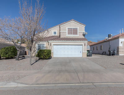 Rio Rancho Single Family Home For Sale: 5429 Caballo Court NE