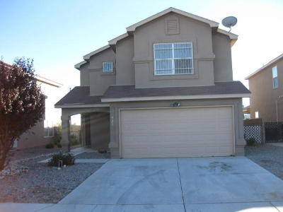 Albuquerque Single Family Home For Sale: 928 Telstar Loop NW