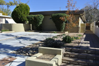 Albuquerque Single Family Home For Sale: 614 Madison Street NE