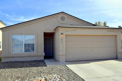 Albuquerque Single Family Home For Sale: 516 Whisper Drive SW