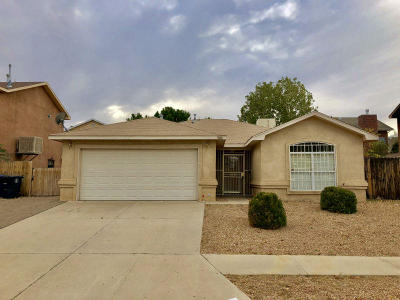 Albuquerque Single Family Home For Sale: 731 Halter Drive SW