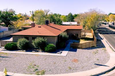 Albuquerque Single Family Home For Sale: 2929 Texas Street NE