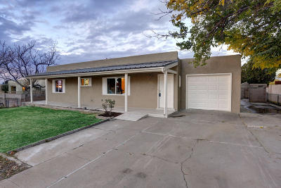 Albuquerque Single Family Home For Sale: 8933 Aztec Road NE