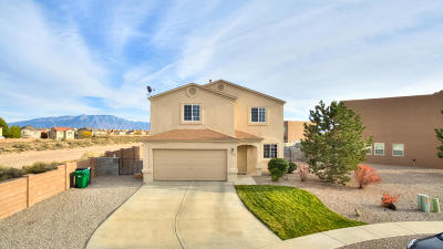 Rio Rancho Single Family Home For Sale: 3532 Old Mill Road NE