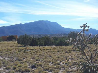 Placitas Residential Lots & Land For Sale: Cielo Norte
