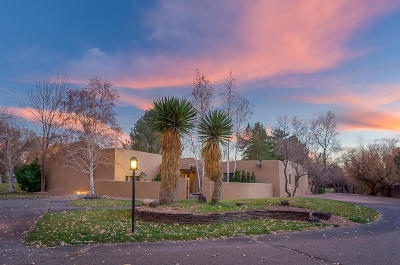 Corrales Single Family Home For Sale: 30 Camino De La Paloma Road