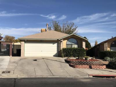 Albuquerque Single Family Home For Sale: 6501 Lamar Avenue NW