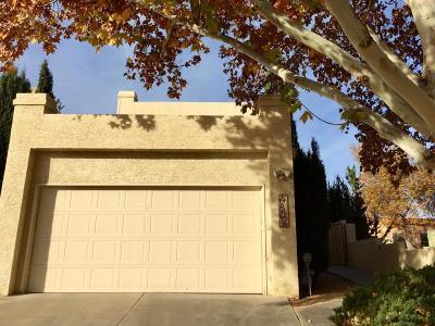 Single Family Home For Sale: 10021 Lagrima De Oro Road NE