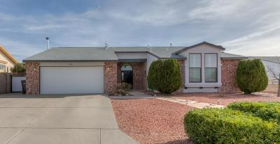 Rio Rancho Single Family Home For Sale: 1960 Whitewater Drive NE