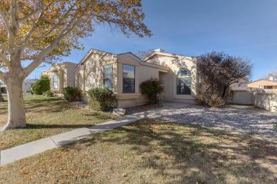 Rio Rancho Single Family Home For Sale: 1805 Blackberry Road NE