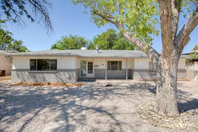 Albuquerque Single Family Home For Sale: 1509 Mesilla Street NE