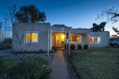 Albuquerque Single Family Home For Sale: 3700 Hannett Avenue NE