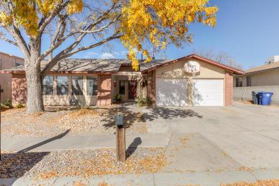 Single Family Home For Sale: 11815 La Vista Grande Drive NE