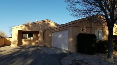 Rio Rancho Single Family Home For Sale: 1800 Jeffrey Road NE