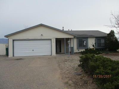Rio Rancho Single Family Home For Sale: 4518 Sunstone Way NE