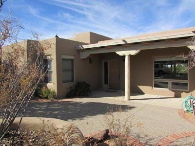Placitas Single Family Home For Sale: 3 Puesta Del Sol