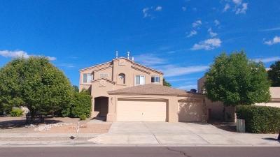 Albuquerque Single Family Home For Sale: 10452 Toscana Street NW