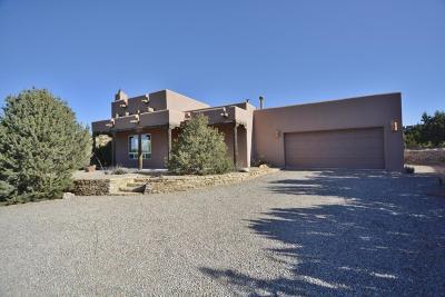 Placitas Single Family Home For Sale: 10 Tres Amigos Road