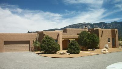 Placitas Single Family Home For Sale: 289 State Hwy 165