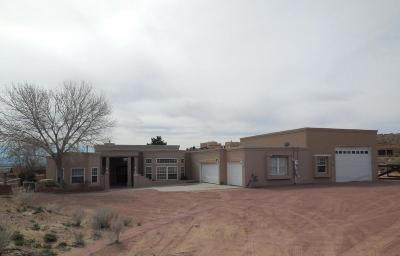 Corrales Single Family Home For Sale: 183 Camino Rayo Del Sol