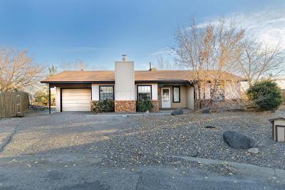 Rio Rancho Single Family Home For Sale: 1400 Ponderosa Court SE