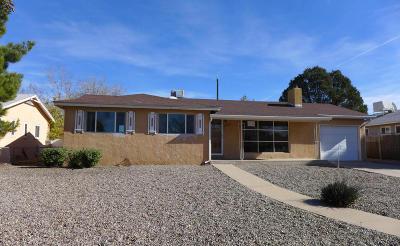 Albuquerque Single Family Home For Sale: 3118 Dakota Street NE