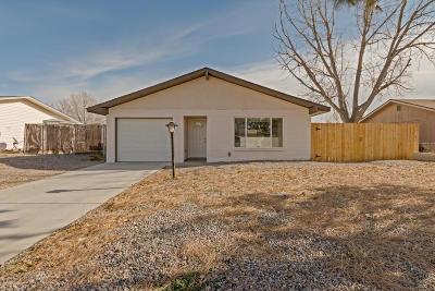 Rio Rancho Single Family Home For Sale: 1660 Brenda Road SE