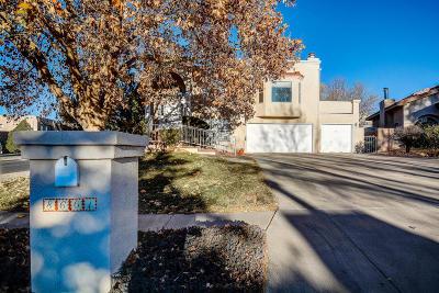 Albuquerque Single Family Home For Sale: 8601 Napa Valley Road NE