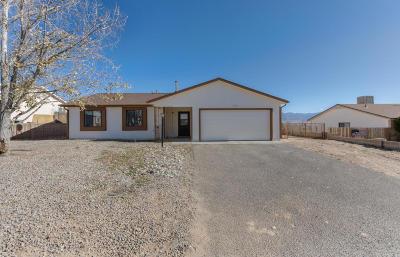 Rio Rancho Single Family Home For Sale: 532 Pyrite Drive NE