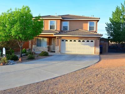 Albuquerque Single Family Home For Sale: 10805 Retanas Place NW