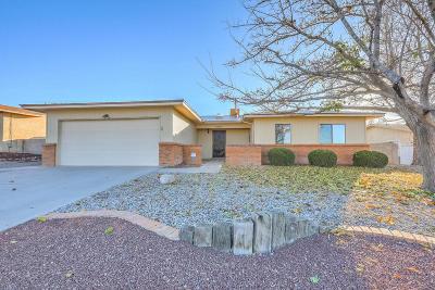Single Family Home For Sale: 8508 San Francisco Road NE