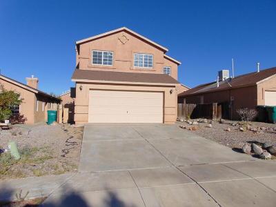 Rio Rancho Single Family Home For Sale: 4741 Kelly Way NE