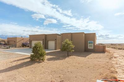 Rio Rancho Single Family Home For Sale: 4813 Shin Ave NE NE