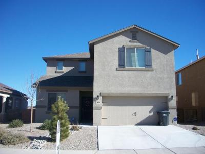 Rio Rancho Single Family Home For Sale: 1818 Lark Drive NE
