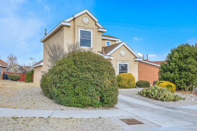 Albuquerque Single Family Home For Sale: 8409 Wynview Court NW