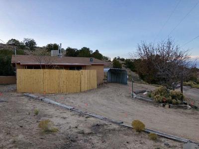 Placitas Single Family Home For Sale: 63 Loma Chata Road