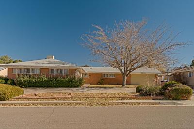 Albuquerque NM Single Family Home For Sale: $267,999