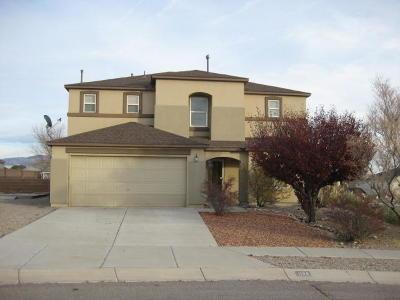 Rio Rancho Single Family Home For Sale: 1136 Caramel Court SE