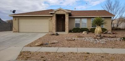 Rio Rancho Single Family Home For Sale: 6924 Glen Hills Drive NE