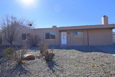 Rio Rancho Single Family Home For Sale: 4108 Las Casas Court SE