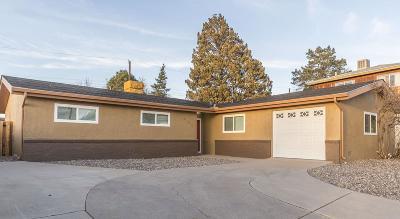 Single Family Home For Sale: 9105 Gutierrez Road NE