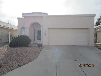 Rio Rancho Single Family Home For Sale: 232 Chaparral Loop SE
