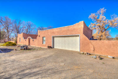 Bernalillo Single Family Home For Sale: 379 Camino Del Pueblo