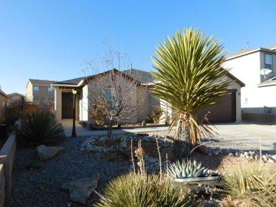 Rio Rancho Single Family Home For Sale: 5241 Dexter Court NE