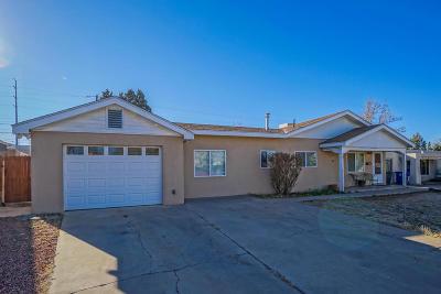Albuquerque Single Family Home For Sale: 8004 Bellamah Avenue NE
