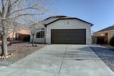 Rio Rancho Single Family Home For Sale: 4756 Delaina Drive NE