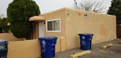Albuquerque NM Multi Family Home For Sale: $117,900