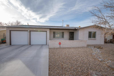 Albuquerque Single Family Home For Sale: 1205 Willys Knight Drive NE