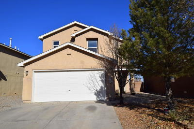 Albuquerque Single Family Home For Sale: 6227 Castle Dome Place NW